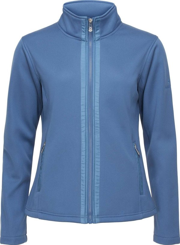 Equipage softshell vest Cambria in blauw.